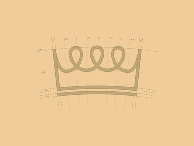 Crown Logo Construction crown construction design logo identity branding