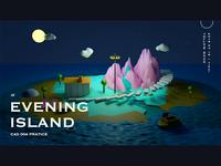 Evening Island