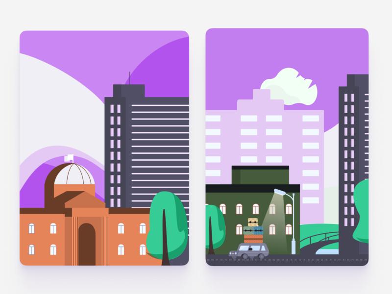 Cityscapes city illustration cityscape vector illustration