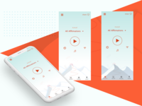 Coaching app look and feel exploration