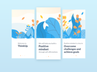 Onboarding for thinkUp app