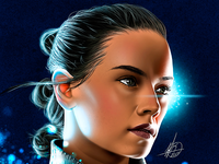 Rey - Digital Portrait 2