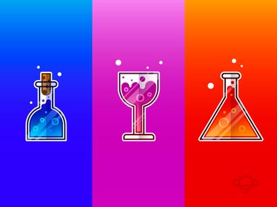 Badge Design - Potions