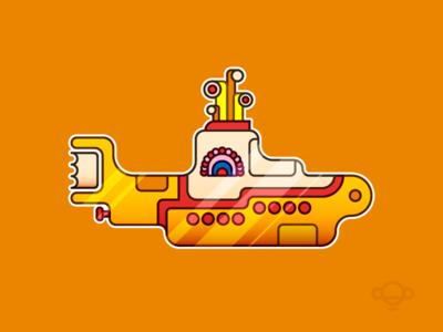 Badge Design - Yellow Submarine