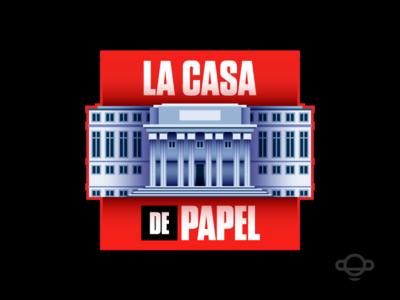 Badge Design - La casa de papel
