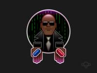 Badge Design - Matrix
