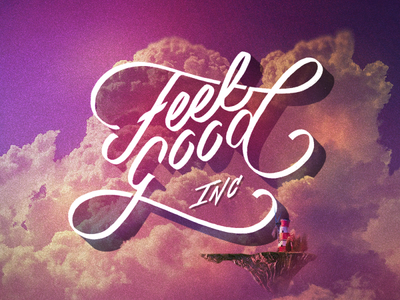 Lettering - Feel Good Inc.