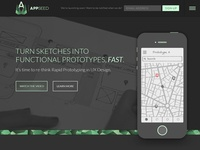 AppSeed Landing Page