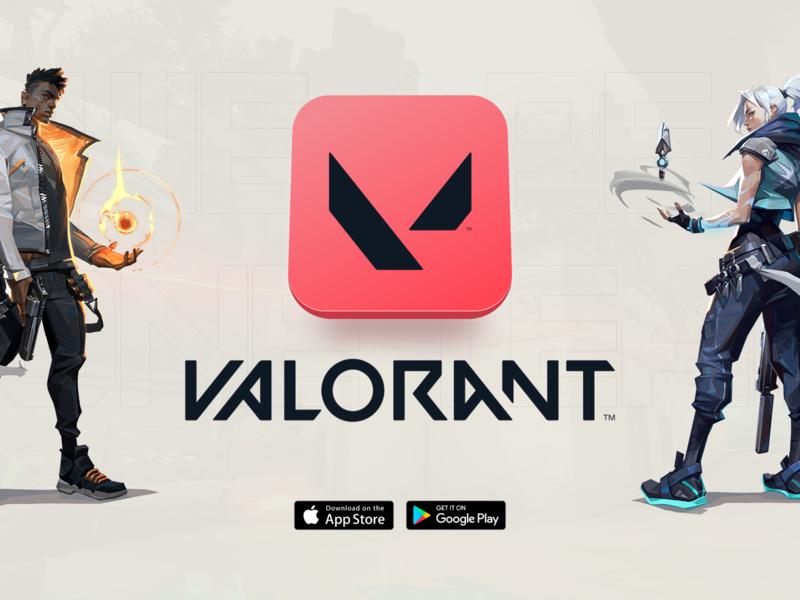 VALORANT Team App app design valorant gaming 3d adobe xd