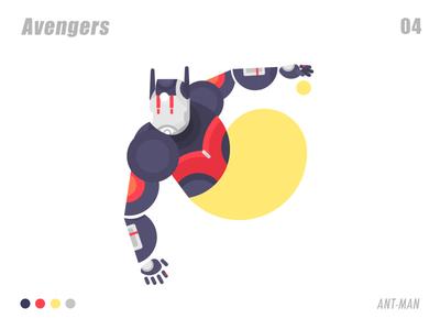 ANT-MAN 插画、ui