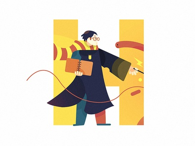 Harry Potter 插画、ui