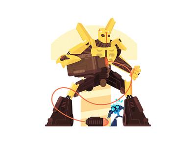 Transformers  -  Bumblebee 插画、ui