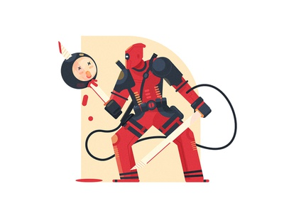 Deadpool 插画、ui