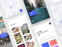 Food app - Map & AR