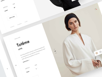 Minimal fashion shop