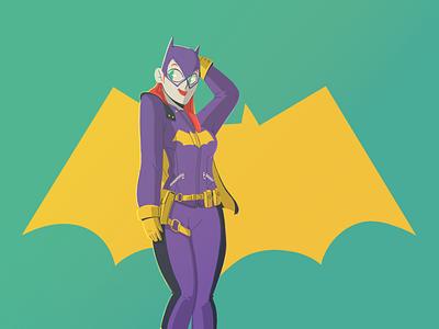 Batgirl batman batgirl illustration yimbo character 2d