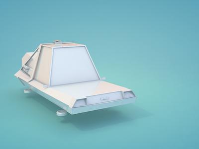 TDS 023 DeLorean WIP