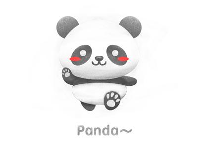 Oh my panda~ illustrator