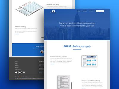 Webdesign internal Page layout