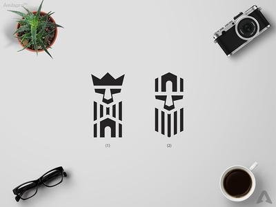 King house Logo Concept real estate design amitspro inspiratinal design creative art professional design simple clean lines monogram icon logo mark logo design creative logo king house