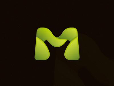 M Logo Design concept