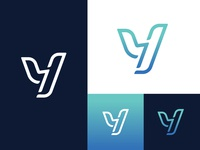 Y monogram for Cryptocurrency trading agency company