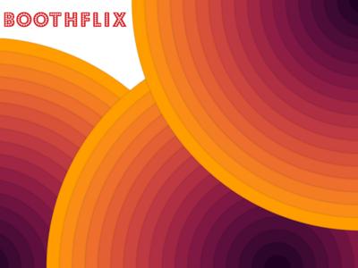 Boothflix background concept branding sketchapp