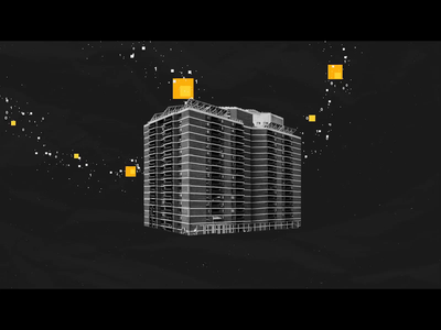 3DStock by UCL - Construction Scene motion graphic motion design illustration adobe illustrator after effects adobe after effects motiongraphics motiondesigner motiondesign 2d animation