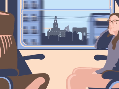 From Milan To Girona - Zadig Documentary motiondesigner motiongraphics illustration motion graphic motion design motiondesign after effects adobe after effects 2d animation