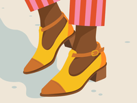 Shoes. Illustrated by Petra Eriksson