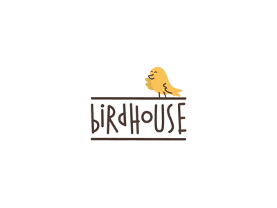 Birdhouse Logo Animation