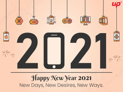 Happy New Year 2021 - Team Fluper 2021 new year 2021