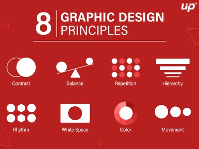 8 Important Principles of Graphic Design animation illustration design graphicdesign