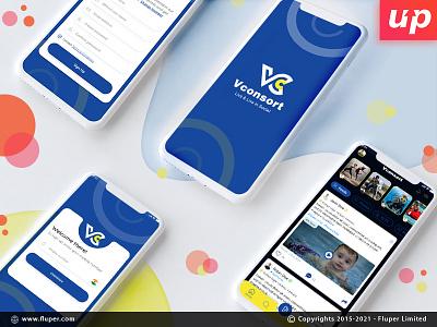 Social App Mockup design ux ui social apps social media