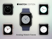 Apple Analog Watch Faces