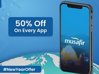 New Year Offer- Get 50% Off On Every App
