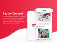 Perfect application : Beauty Channel