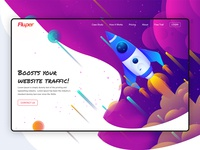 web page website traffic
