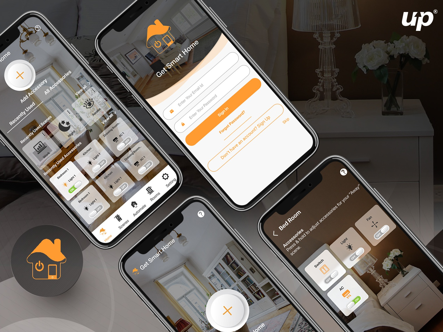 Home Automation App by Fluper | Dribbble | Dribbble
