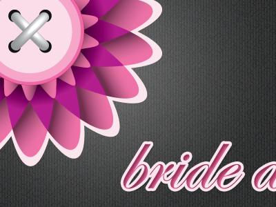 Bride as a Button logo