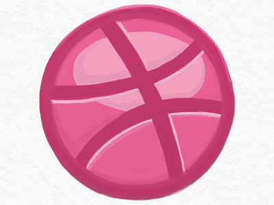 Dribbble Painting