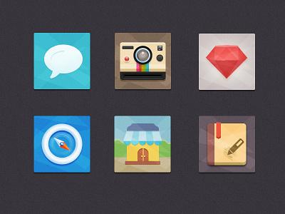 Flat Icons Freebie icons colorful icons psd freebie flat icons