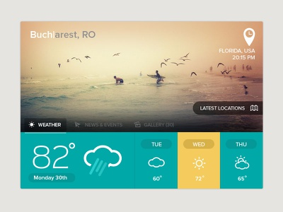 Weather  weather ui icons minimal app buttons dashboad widget clean flat design flat icon colors interface metro search ux web application layout news location