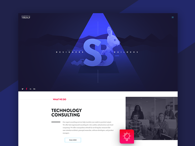 Smartly Built (Landing page)