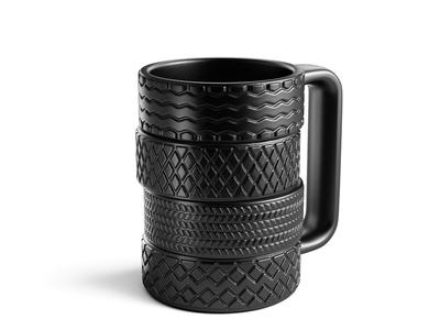 """Tires Mug """"Kolesa"""""""