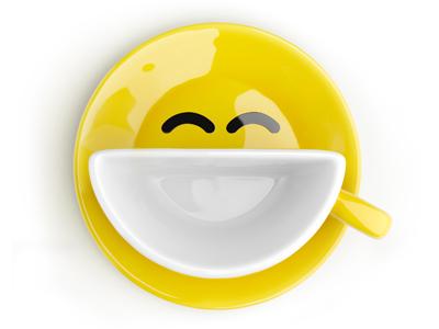 Yellow Smilecup  yellow smilecup cup smile psyho.ua 3d