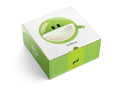 Box for Smilecup box smilecup psyho.ua 3d