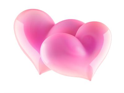 Hearts heart 3d