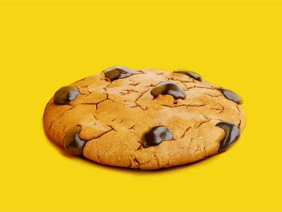 Cookie cookie chocolate 3d food psyho