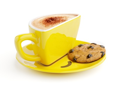Smilecup With Cookie cookie chololate smilecup cappuccino 3d psyho